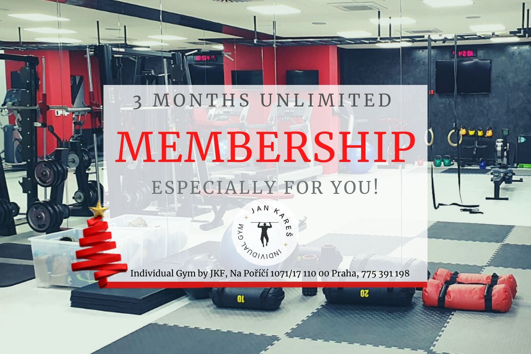 Christmas voucher - 3 months membership